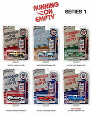 Set of 6: Greenlight Running on Empty Series 1 1:64 Scale Diecast Model Cars