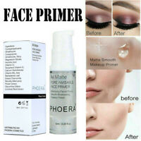 PHOERA Skin Face Primer Brightening Foundation Gel Base Makeup Invisible Pore UK