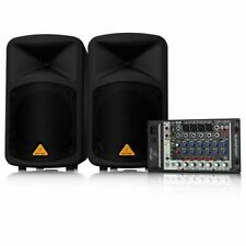 Behringer Mint EUROPORT EPS500MP3 500W 8-Channel Portable PA System