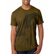 Ibex Goat Wild Mountains Men's Soft T-Shirt