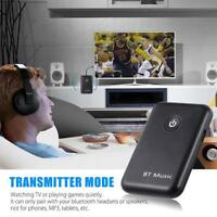 2 in 1 Wireless Bluetooth Transmitter Receiver Stereo Audio Music Adapter GA