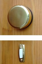 Imperial Wind-Up Mechanical Doorbell, Brass