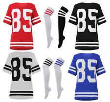 Camisetas de mujer de manga corta color principal multicolor de poliéster