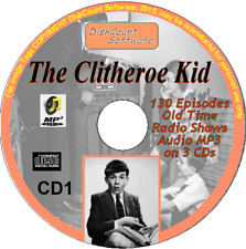 The Clitheroe Kid 130 Old Time Radio Episodes Audio MP3 3CDs OTR Jimmy Clitheroe