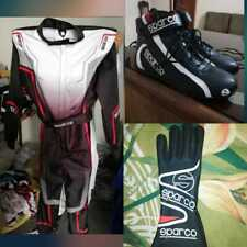New Sparco Suit Shoes Gloves/Sublimation Cik/Fia Level 2 (Free gifts included)