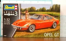 Revell of Germany 1:32 scale Opel GT Coupe Skill Level 3 Kit