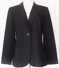 New $129 Alex Marie Black Blazer Suit Jacket Womens Size 10 Free Shipping