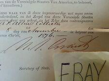 Ulysses S Grant President Autograph