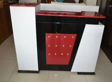 1X Red Fashion Classic Reception Desk Front Counter 1.5M Wide