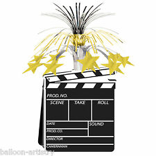 "15"" Hollywood Movie Clapper Board Party Table Centrepiece Decoration"