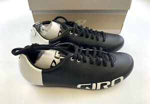 Giro Empire ACC Carbon Road Cycling Shoes Black / White 42.5 EU / 9. US New