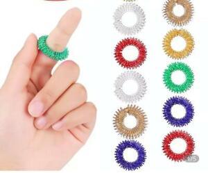 Stress Relief Sensory Spring Finger Ring