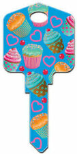 MULTI CUPCAKES DESIGN House Key KW Kwikset Trendy Baking