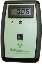 Geiger Counter RadRate basic, radiation detector and meter, compteur geiger