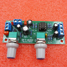 DC 12V-24V Low-pass Filter NE5532 Bass Tone Subwoofer Pre-Amplifier Preamp Board