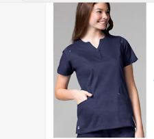 Maevn Medical Scrub Set Pants 9602 T/Top1602 Navy Blue XL Petite New Reg 48