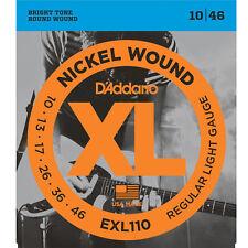 D'ADDARIO EXL110 REGULAR LIGHT MUTA DI CORDE CHITARRA ELETTRICA 010-046