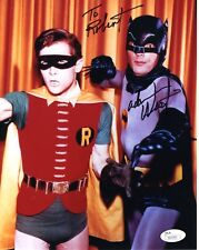 ADAM WEST AUTHENTIC SIGNED 8x10 PHOTO      BATMAN     SIGNED TO ROBERT   JSA COA