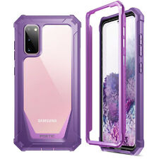 Samsung Galaxy S20 Case | Poetic Shockproof Scratch Resistant Back Cover Purple
