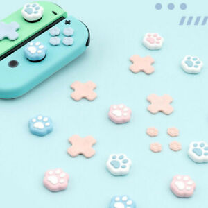 Heart-shaped ABXY Direction Buttons Cap Cover for Nintendo Switch Joy-Con