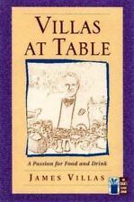 Villas at Table by James Villas (1998)LPb