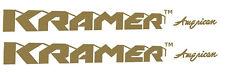 KRAMER Guitar Headstock  LOGO Vinyl Sticker (Read Description)