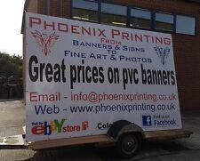 Advertising Trailer Artwork Printing and Sign Printing.