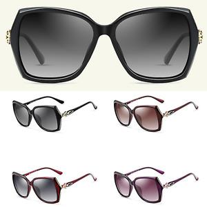 Women's NEW UV400 Polarised Fashion Designer Oversized Eyewear Drive Sunglasses