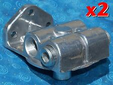 2 NEW NAPA 4770 / WIX 24770 fuel filter remote mounting base CAT 1R-0750 1R-0749