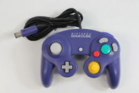 Official Nintendo GameCube Controller Pad Indigo Purple Cord Damaged TIGHT GO520