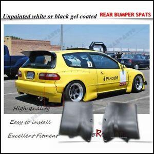 FRP ROCKET RB PANDEM STYLE REAR SPATS FOR 92-95 CIVIC EG (HATCHBACK)