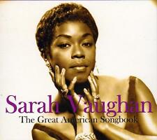 SARAH VAUGHAN - THE GREAT AMERICAN SONGBOOK (NEW SEALED 2CD)