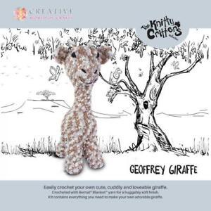 Knitty Critters Crochet Kits - GEOFFREY GIRAFFE