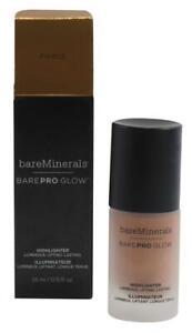 bareMinerals BarePro Liquid Highlighter Makeup Fierce rich Copper w Gold Pearl