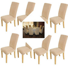 8XSuper Removable Fit Dining Room Chair Covers Slipcover Seat Protector Washable