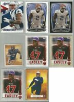 Dominique Easley New England Patriots Florida 8 card 2014 RC lot-all different