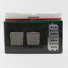 Racing Mugen Pedals Foot Rest Accelerator Brake Pedal Clutch Pedals for Honda