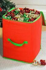 NEW Large Christmas Bauble/Decorations Storage Box Up Xmas Loft bag