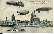 Zeppelin Ansichtskarten vor 1914