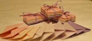 Mini fairy envelopes