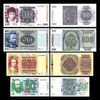 2x 50, 100, 200, 1.000 Kroner - Issue 1983 - 1998 - Reproduction - 01