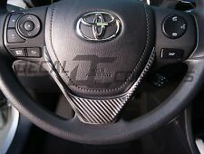 2014-2016 Corolla Carbon Fiber Steering Wheel Accent Decal Cover Wrap Toyota