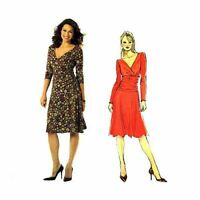Butterick Sewing Pattern 4914 Misses Fitted Midriff Dress Size 8-14 Uncut