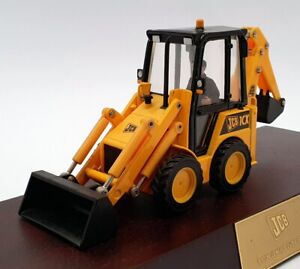 Ertl 1/32 Scale Diecast 40571 - JCB I CX Skid Steer Excavator On Plinth