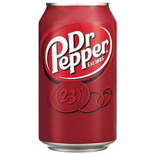 Dr.Pepper 24 dosen 0,33l Das Kultgetränk Aus den USA  € 14,99 pro Tray 24 dosen