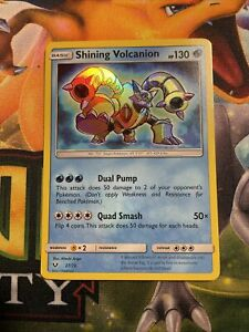 Shining Volcanion 27/73 Holo Ultra Rare Near Mint Card Pokemon Shining Legends