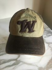Winchester W Brown. and Green Camouflage Hat Cap