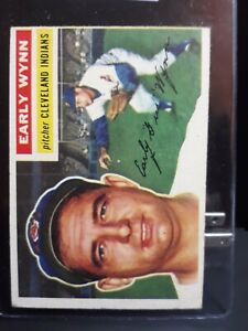 1956 Topps Early Wynn #187 HOF LEGEND