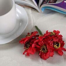 Multicolor Artificial Camellia Flower Bridal Bouquet Scrapbooking Wedding Décor