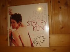 Signed Signiert STACEY KENT In Love Again ORIG 1st CANDID PURE PLEASURE 180g LP